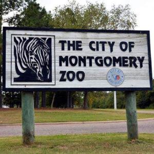 Montgomery Zoo Sign (Alabama Birding Trails)